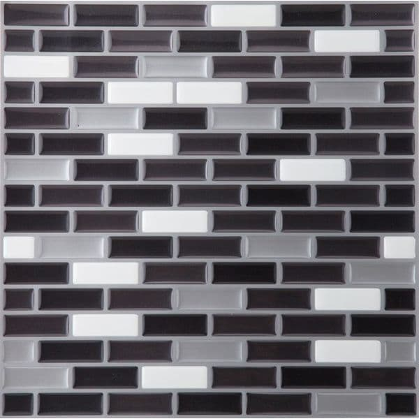 Magic Gel Tile Spectrum Metallic Mosaic Backsplash Tile
