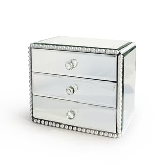 Pearl Jewelry 3-drawer Box