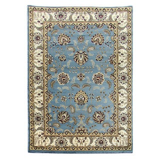 Tiffany Sky Blue Oriental Area Rug (5 'x 7')
