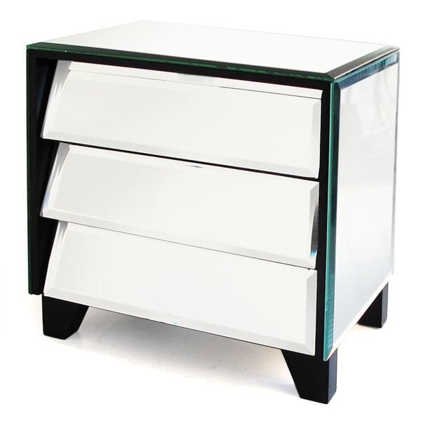 Mirror Titled Drawers Jewelry Box