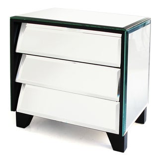 Mirror Titled Drawers Jewelry Box