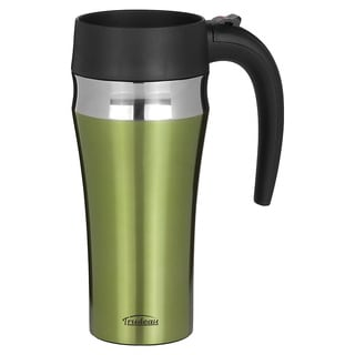 Trudeau Journey 16-ounce Green Leak-proof Travel Mug
