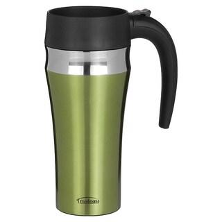 Trudeau Journey 16-ounce Green Leak-proof Travel Mug