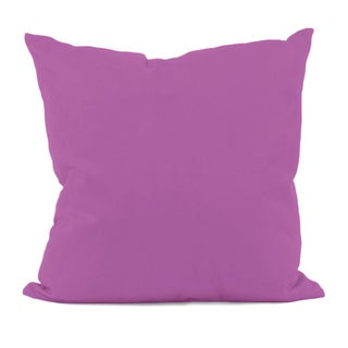 Radiant Orchid Hypoallergenic Decorative Throw Pillow