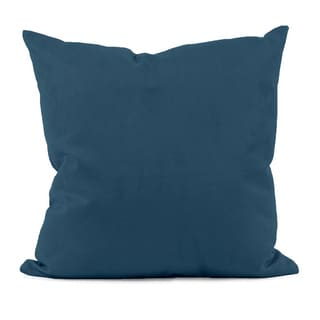 Moroccan Blue Decorative Throw Pillow