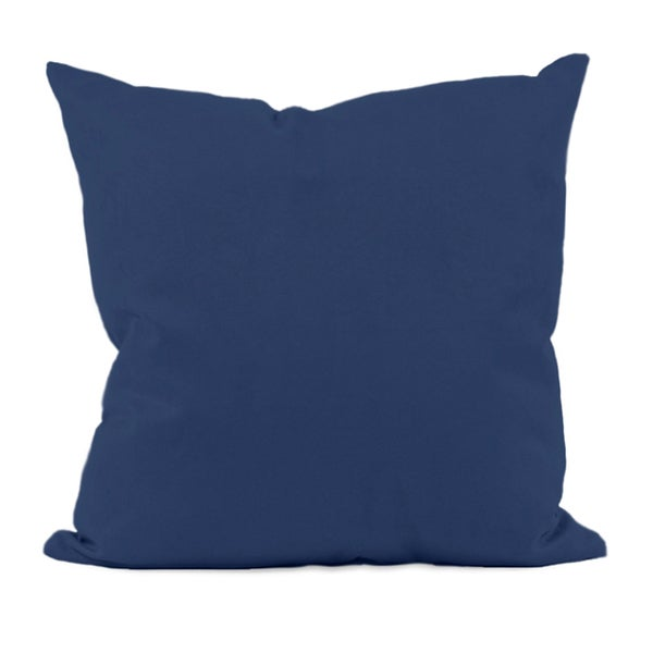 Navy Blue Decorative Bed Pillows : Navy Blue Decorative Throw Pillow - 16080229 - Overstock.com Shopping - The Best Prices on E by ...