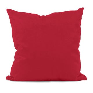 Red Decorative Throw Pillow