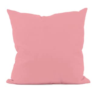 Pink Decorative Throw Pillow