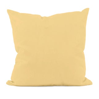 Yellow Hypo-allergenic Decorative Pillow