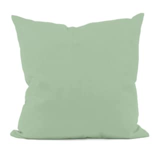 Green Decorative Throw Pillow