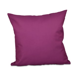 Purple Hypo-allergenic Decorative Pillow