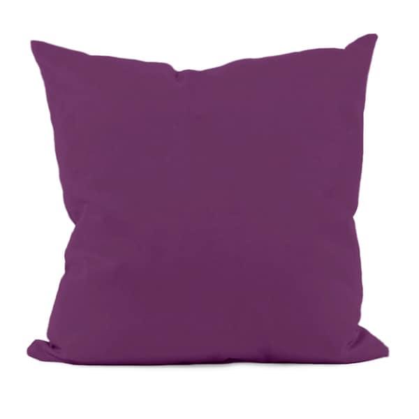 Purple Decorative Throw Pillow