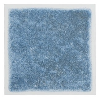 Nexus 4x4-inch Wedge Blue Vinyl Self-sticking Wall/ Decorative Tile (Pack of 27)
