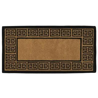 "Grecian Extra Thick Monogrammed Doormat (36"" x 72"")"