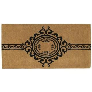 """Garbo Extra Thick Monogrammed Doormat (36"""" x 72"""")"""