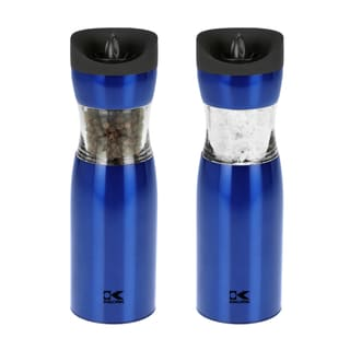 Kalorik Blue Gravity Salt and Pepper Grinder Set