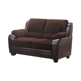 Monika Stationary Two-tone Loveseat
