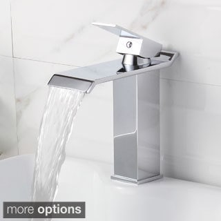 Elite 8817 Single-Lever Waterfall Basin Sink Faucet