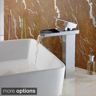 Elite 8814 Single-Lever Waterfall Vessel Sink Faucet