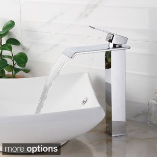 Elite 8816 Single-lever Waterfall Bathroom Sink Faucet