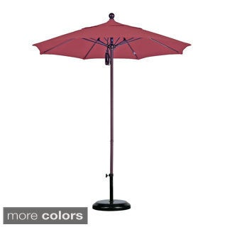 Sunbrella Commercial Grade 7.5-foot Aluminum Umbrella and Stand