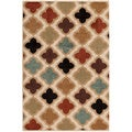 Veranda Irvine Bone Indoor/ Outdoor Rug (7'10 x 9'10)