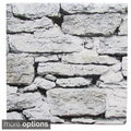 Weathered Stone Wall Ceramic Wall Tiles (Pack of 20)