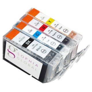 Sophia Global Compatible Ink Cartridge Replacement for Canon PGI-5 and CLI-8 (1 Large Black