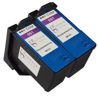 Sophia Global Remanufactured Ink Cartridge Replacement for Dell MK991 Series 9 (2 Color)