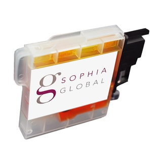 Sophia Global Compatible Ink Cartridge Replacement for Brother LC65 (1 Yellow)
