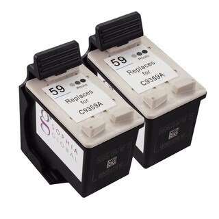 Sophia Global Remanufactured Ink Cartridge Replacement for HP 59 (2 Photo Gray)