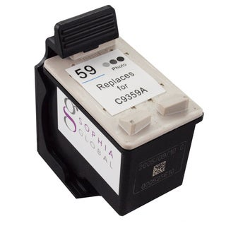 Sophia Global Remanufactured Ink Cartridge Replacement for HP 59 (1 Photo Gray)