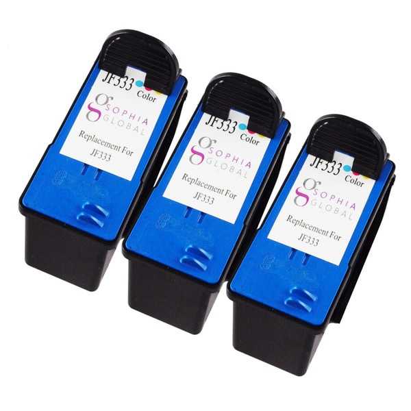 Sophia Global Remanufactured Ink Cartridge Replacement for Dell JF333 Series 6 (3 Color)
