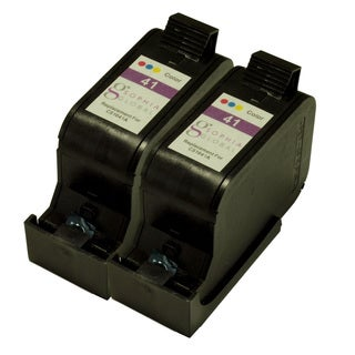 Sophia Global Remanufactured Ink Cartridge Replacement for HP 41 (2 Color)