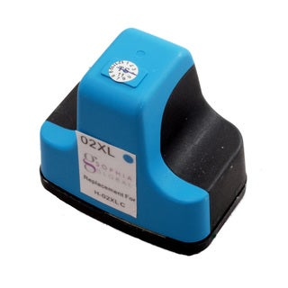 Sophia Global Remanufactured Ink Cartridge Replacement for HP 02XL (1 Light Cyan)