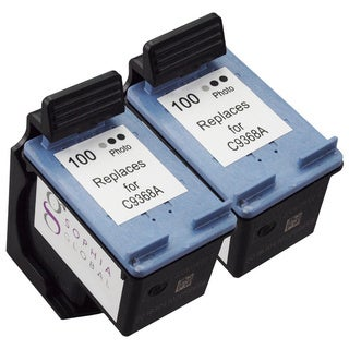 Sophia Global Remanufactured Ink Cartridge Replacement for HP 100 (2 Gray)