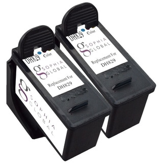 Sophia Global Remanufactured Ink Cartridge Replacement for Dell DH829 Series 7 (2 Color)