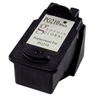 Sophia Global Remanufactured Ink Cartridge Replacement for Canon PG-210 (1 Black)