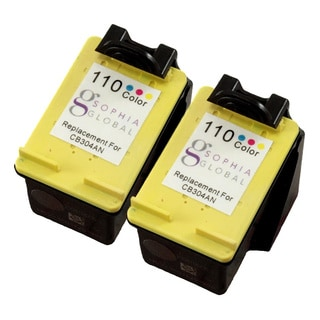 Sophia Global Remanufactured Ink Cartridges Replacement for HP 110 (2 Color)
