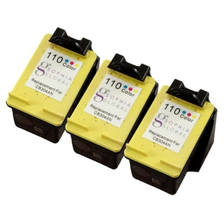 Sophia Global Remanufactured Ink Cartridges Replacement for HP 110 (3 Color)
