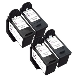 Sophia Global Remanufactured Ink Cartridge Replacement for Dell DH828 and DH829 Series 7 (2 Black, 2 Color)