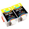Sophia Global Compatible Ink Cartridge Replacement for Kodak 30XL (2 Color)