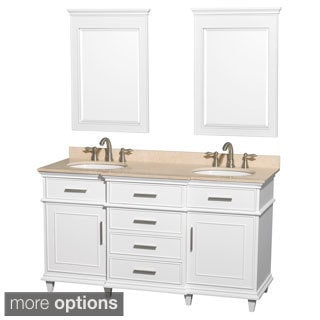 Berkeley 60-inch White Double Vanity