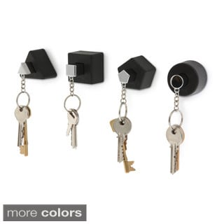 j-me Assorted Shapes Key Holders (Set of 4)