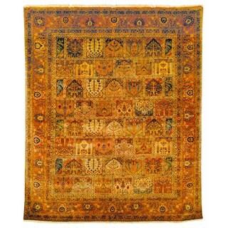 Safavieh Hand-knotted Lavar Multi/ Rust Wool Rug (6' x 9')