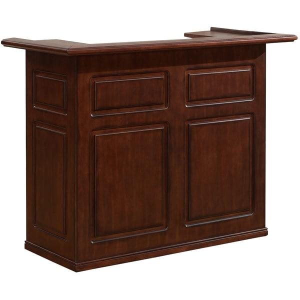 Sanford 58-inch Brown Home Bar Space