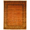 Safavieh Hand-knotted Lavar Apricot/ Gold Wool Rug (6' x 9')
