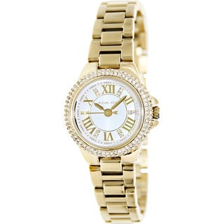 Michael Kors Women's MK3252 Camille Goldtone Roman Numeral Watch