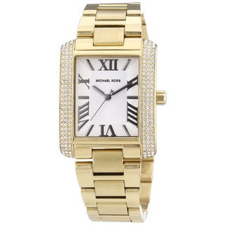 Michael Kors Women's MK3254 Emery Goldtone Watch
