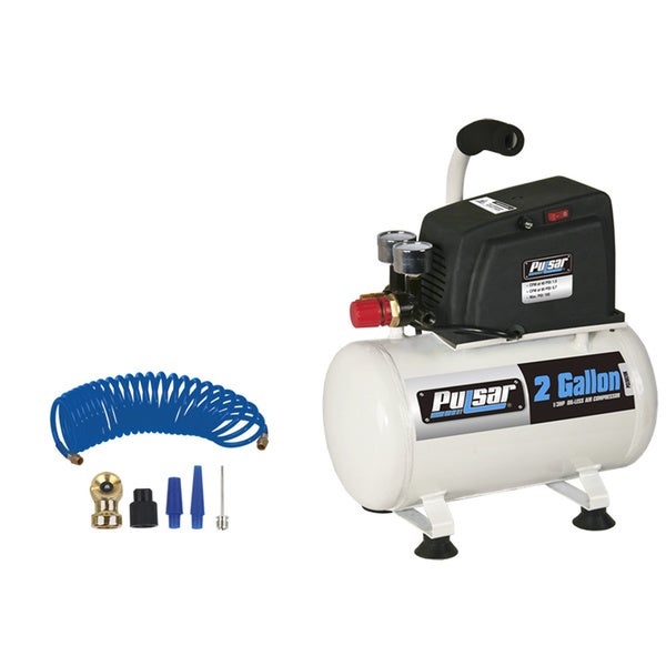 Pulsar Products 2-gallon Air Compressor with Accessories